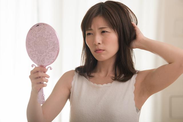 髪の毛の不満